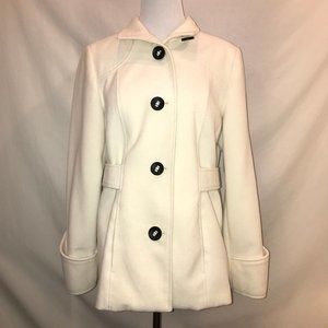 White Chico's Ladies Jacket- Medium Weight
